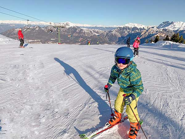 bambino scia