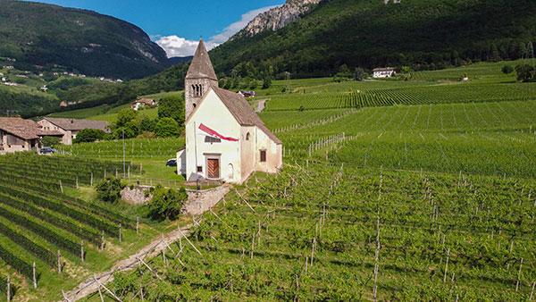 Saint Michel church in Mazzone, Egna