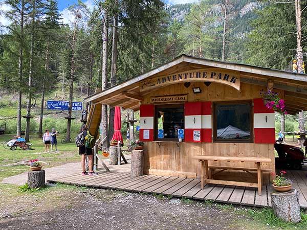 Adventure Park Campitello chalet