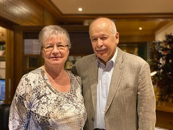 Riccaro e Maria Soraruf