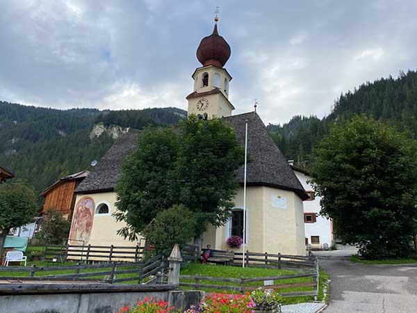 chiesa canazei
