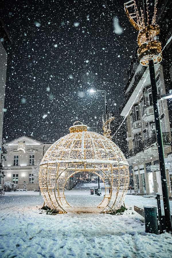 Merano Natale neve