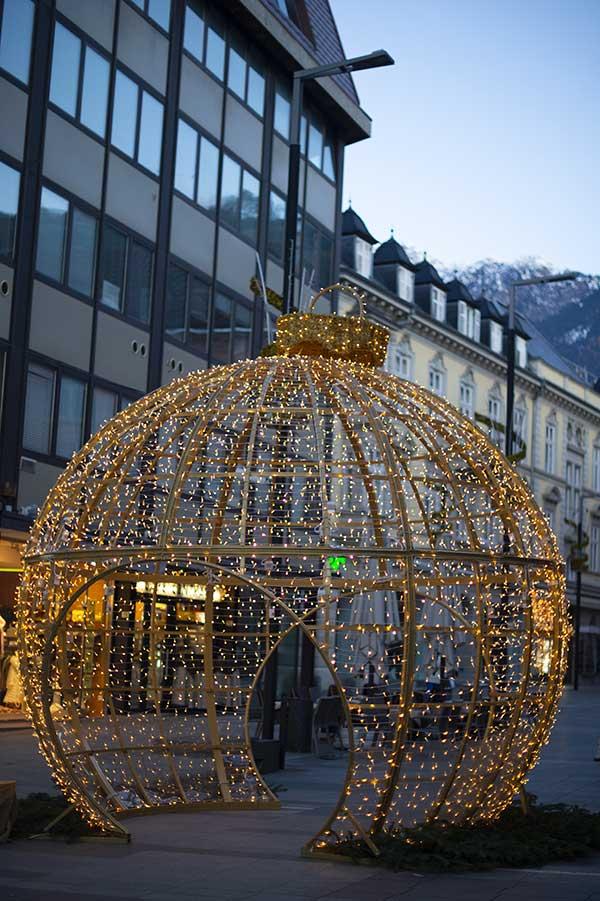 merano luci di Natale