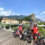 ciclabile lago di Garda con i bambini viaggiapiccoli