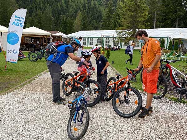 rent bike canazei