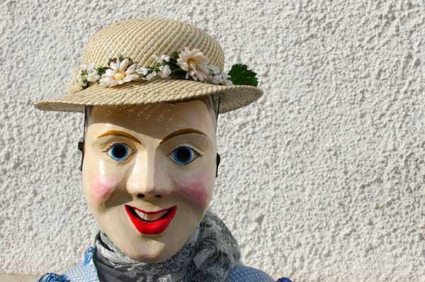 maschera carnevale ladino