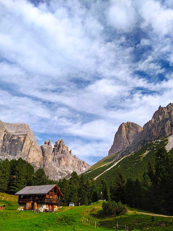 Trekking rifugio Gardeccia