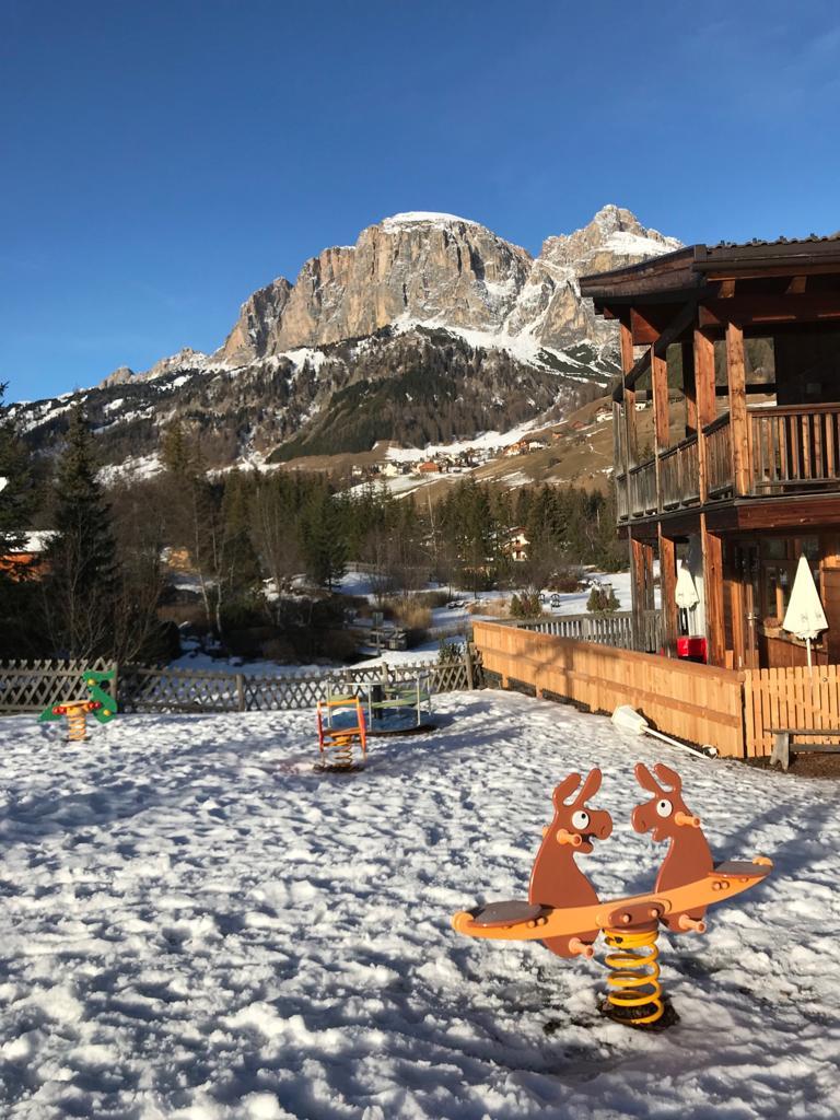 Alta Badia Corvara bambini neve