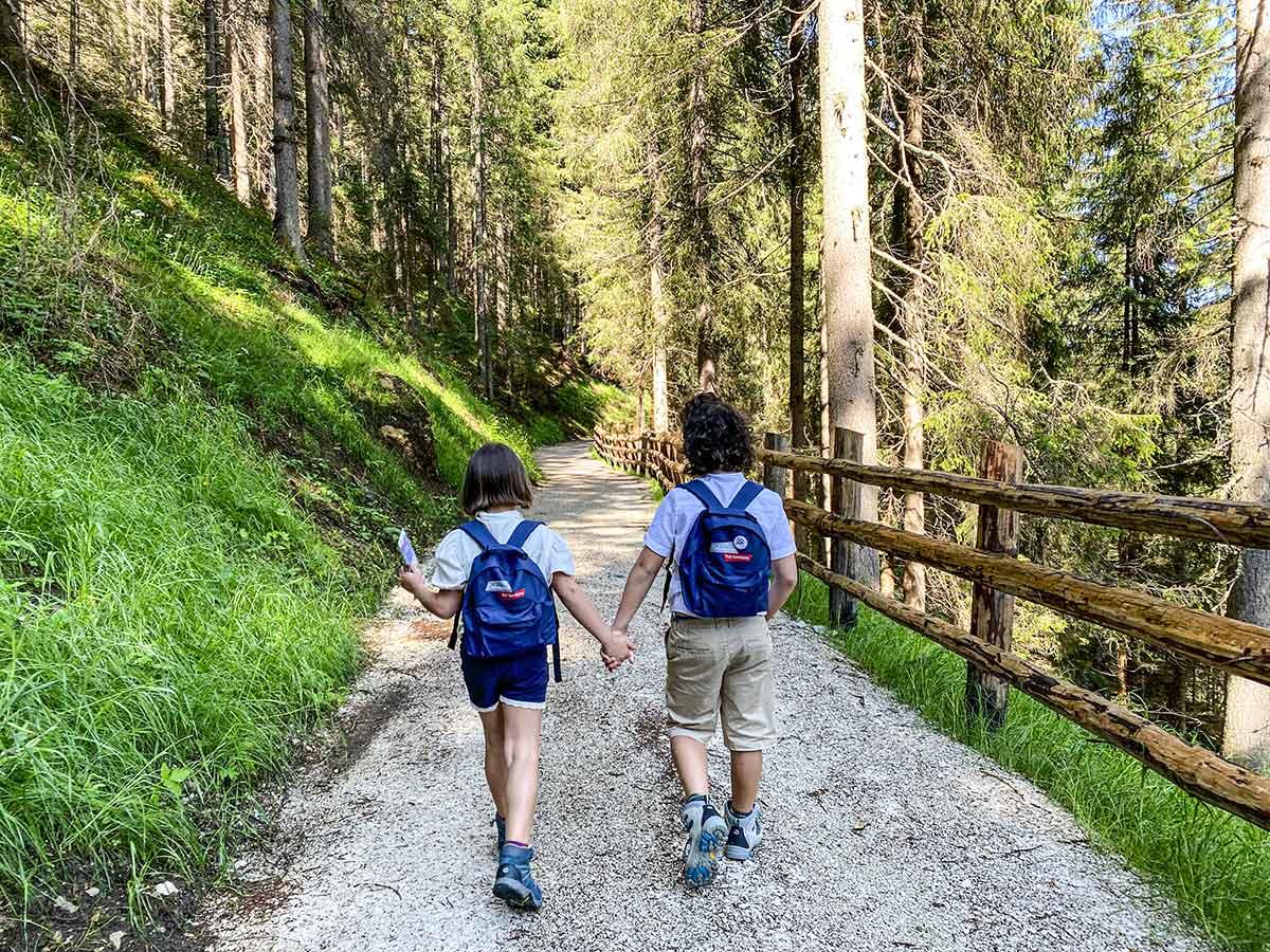 bambini trekking