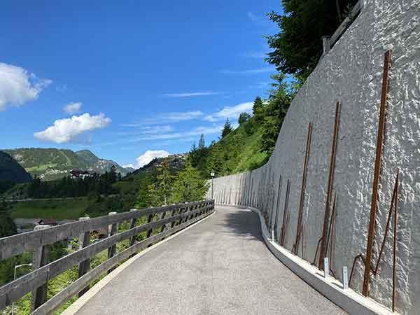muro della neve