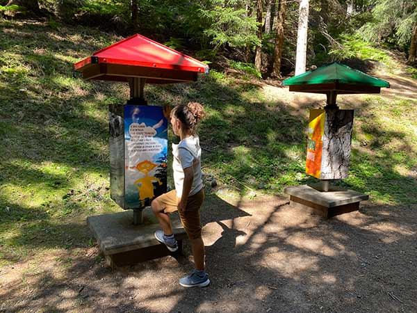 giocabosco Capriana parco giochi Val di fiemme